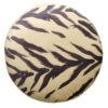 Възглавница за пода от плюш.Animal print дизайн.